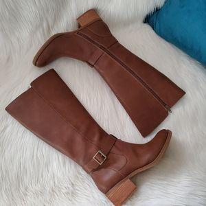 NWT Korks Theresa Vegan Leather Knee-high Boots